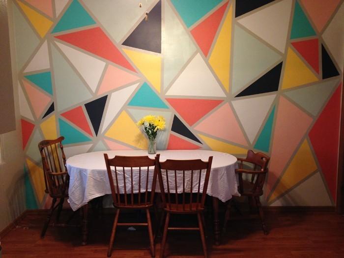 kreative wandgestaltung farbideen farbgestaltung farbwirkung wohnideen dekoideen 18