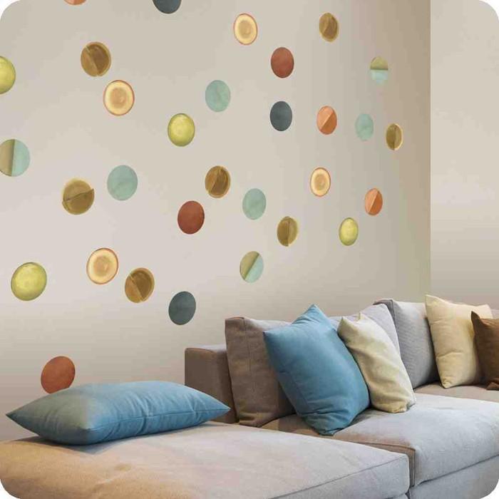 kreative wandgestaltung farbideen farbgestaltung farbwirkung wohnideen dekoideen 30