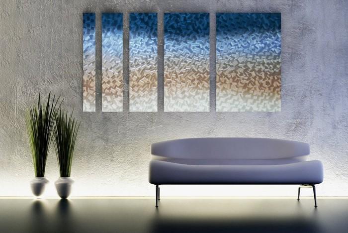 kreative wandgestaltung farbideen farbgestaltung farbwirkung wohnideen dekoideen 31