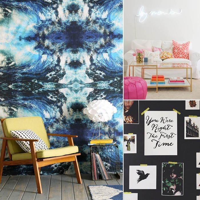 kreative wandgestaltung farbideen farbgestaltung farbwirkung wohnideen dekoideen 32