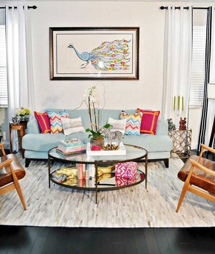 kreative wandgestaltung farbideen farbgestaltung farbwirkung wohnideen dekoideen 37