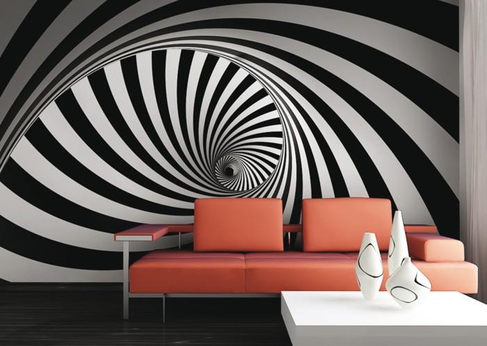 kreative wandgestaltung farbideen farbgestaltung farbwirkung wohnideen dekoideen 41