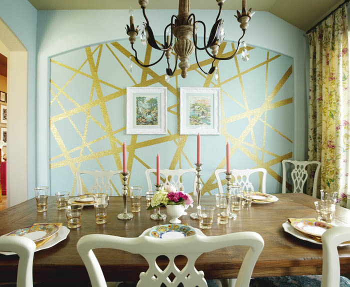kreative wandgestaltung farbideen farbgestaltung farbwirkung wohnideen dekoideen 6