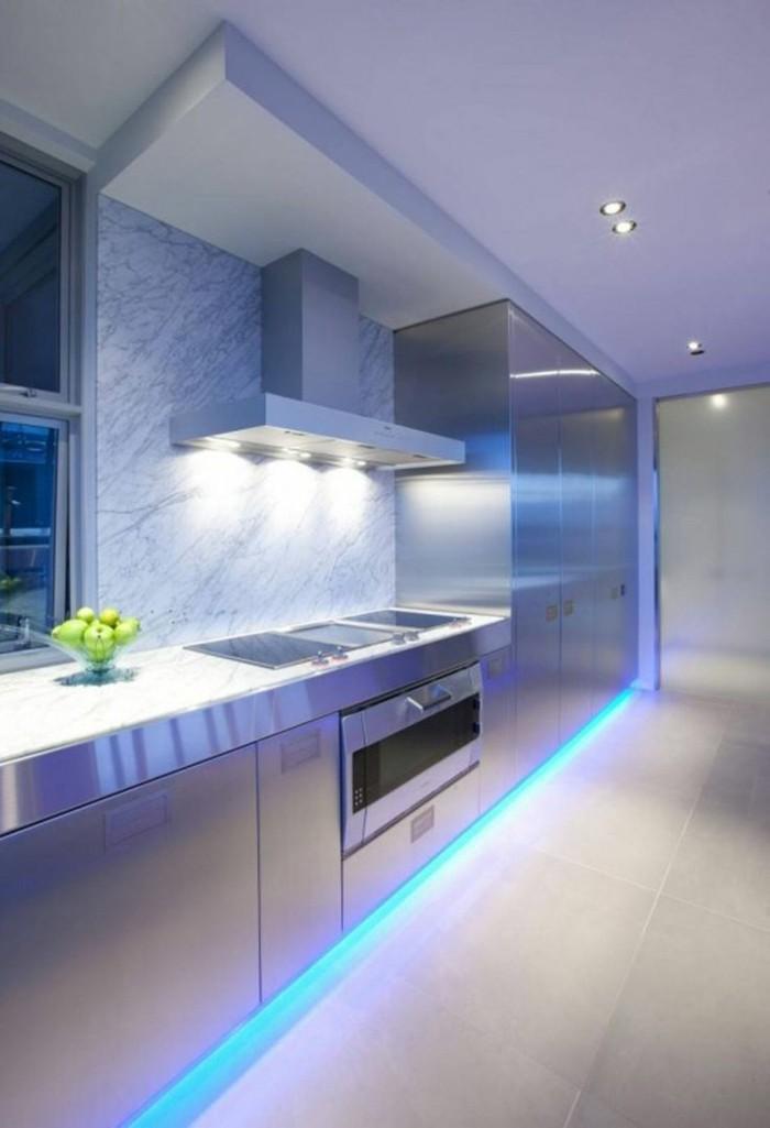 led lichterketten dekotipps küche dekorieren