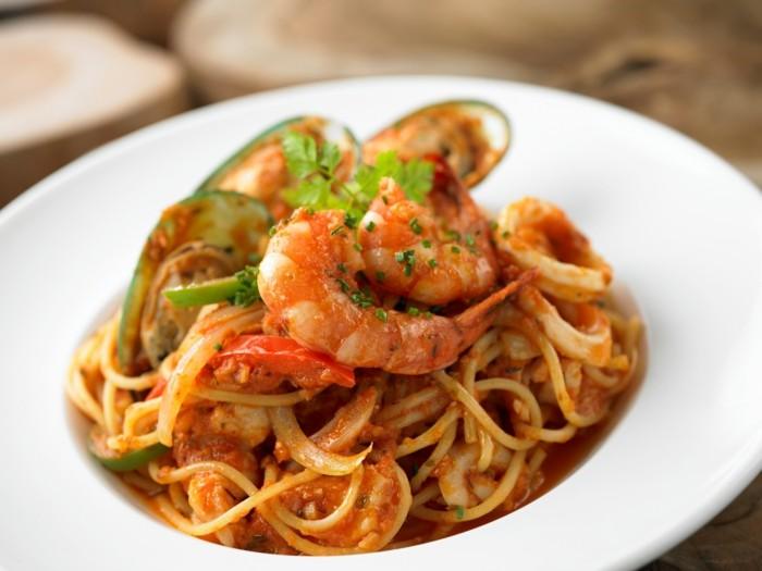 meeresfruechte arten spaghetti