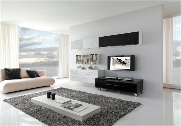 unsere wohnzimmer deko ideen f r ein verbl ffendes ambiente. Black Bedroom Furniture Sets. Home Design Ideas