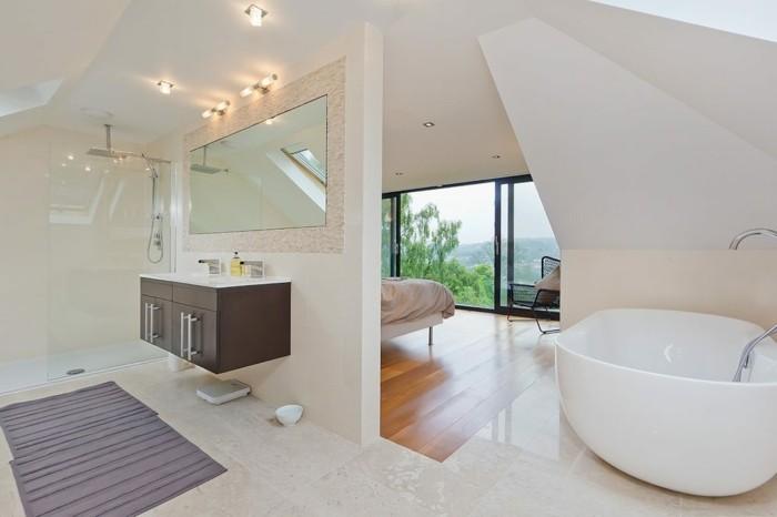 moderne duschen badezimmer gestalten duschkabine badewanne