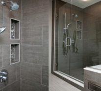 Moderne Dusche