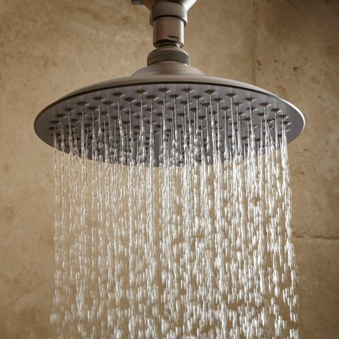 moderne duschen regendusche badezimmer ideen
