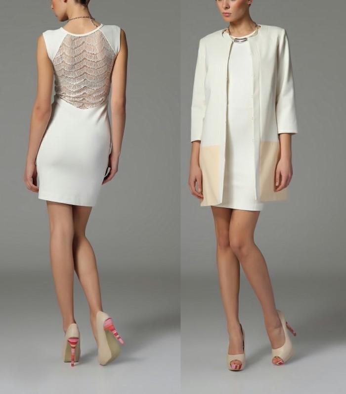 moderne kleider helle nuancen 2017 neujahr damenmode trends kollektionen