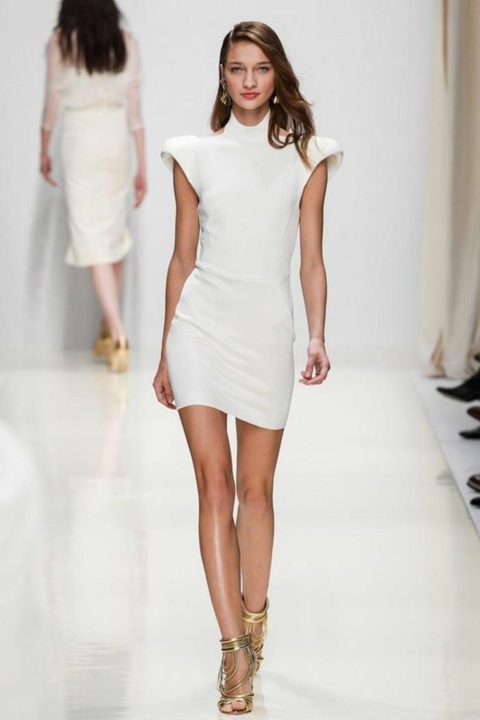 moderne kleider helle nuancen 2017 neujahr damenmode trends kollektionen farben
