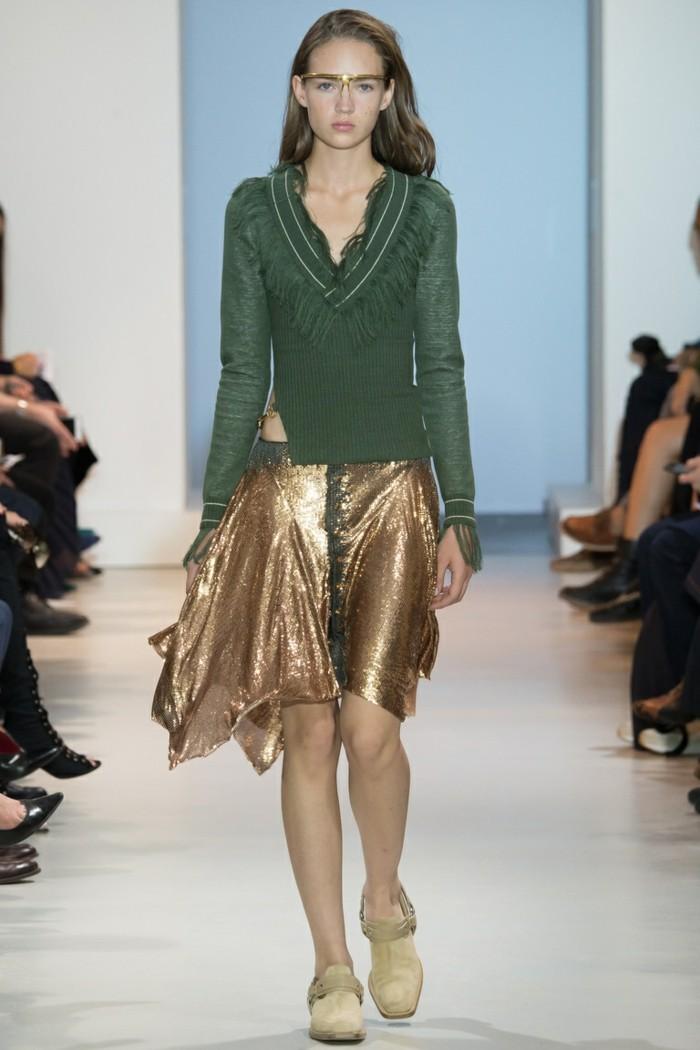 moderne pullover damen trends 2017 damenmode jahrestrends fashion gruen