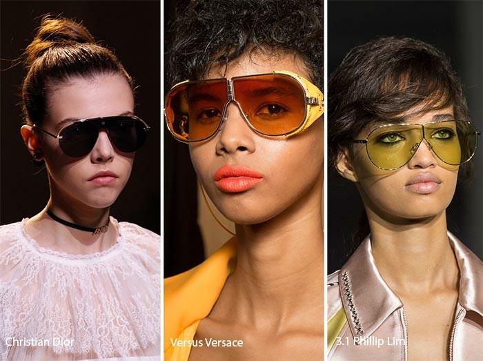 moderne sonnenbrillen damenmode 2017 pilotenbrille modell