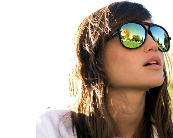 moderne sonnenbrillen damenmode 2017 sommer spiegel brille