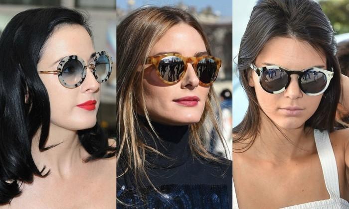 moderne sonnenbrillen damenmode 2017 sommer trends