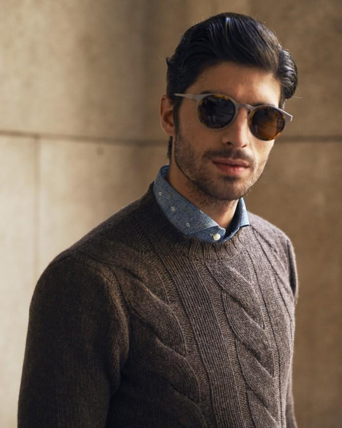 moderne sonnenbrillen herrenmode tendenzen