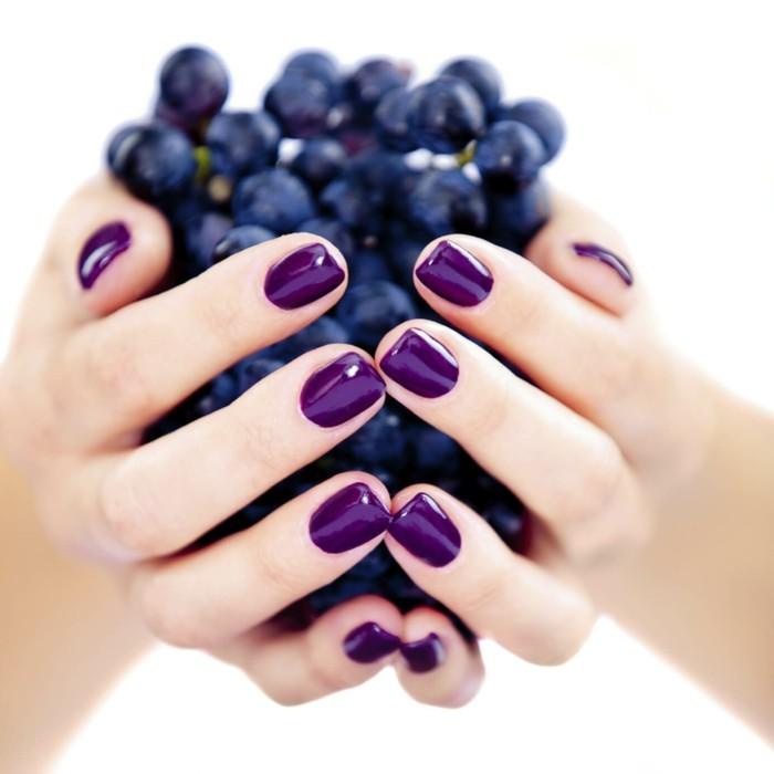 nagellack farbe schöne fingernägel