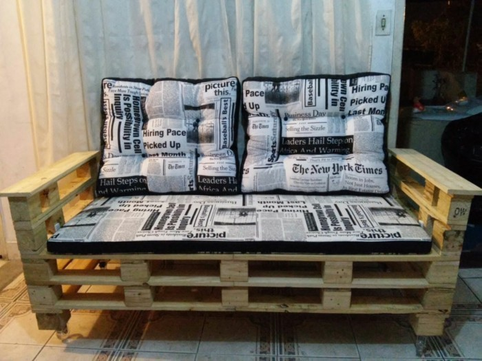 palettenmoebel sofa holzbank couch selber bauen