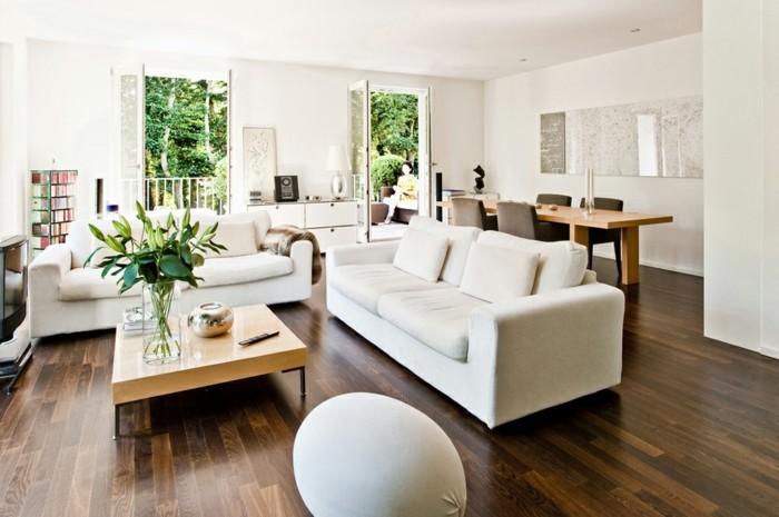 passende-frühlingsdekoration-frische-wohnzimmergestaltung-einrichtungsideen-natur