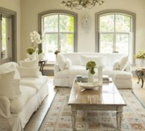 Passende Frühlingsdekoration für frische Wohnzimmergestaltung