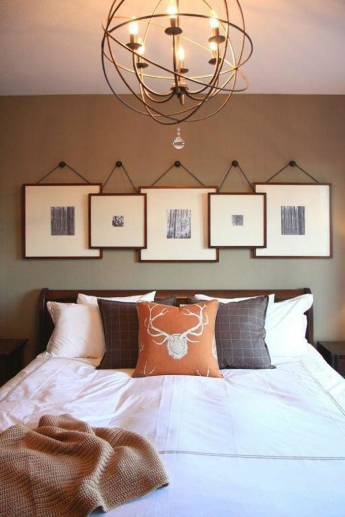 schlafzimmer ideen wandgestaltung wandbilder bringen einen frischen hauch in den schlafbereich