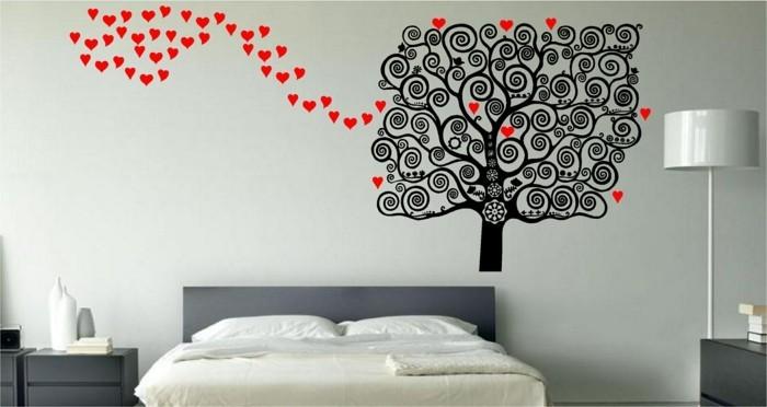 60 schlafzimmer ideen wandgestaltung für jeden wohnstil - Schlafzimmer Ideen Wandgestaltung