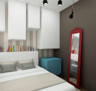 Ideen für Schlafzimmereinrichtung von kleinen Räumen