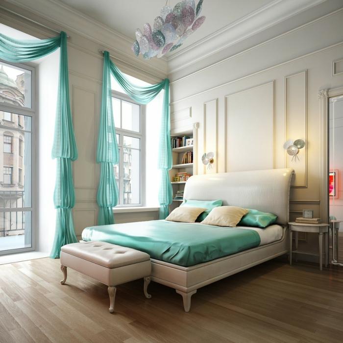 schlafzimmereinrichtung gestaltungsideen kleines schlafzimmer einrichtungsideen raumvergrößerung möblierung