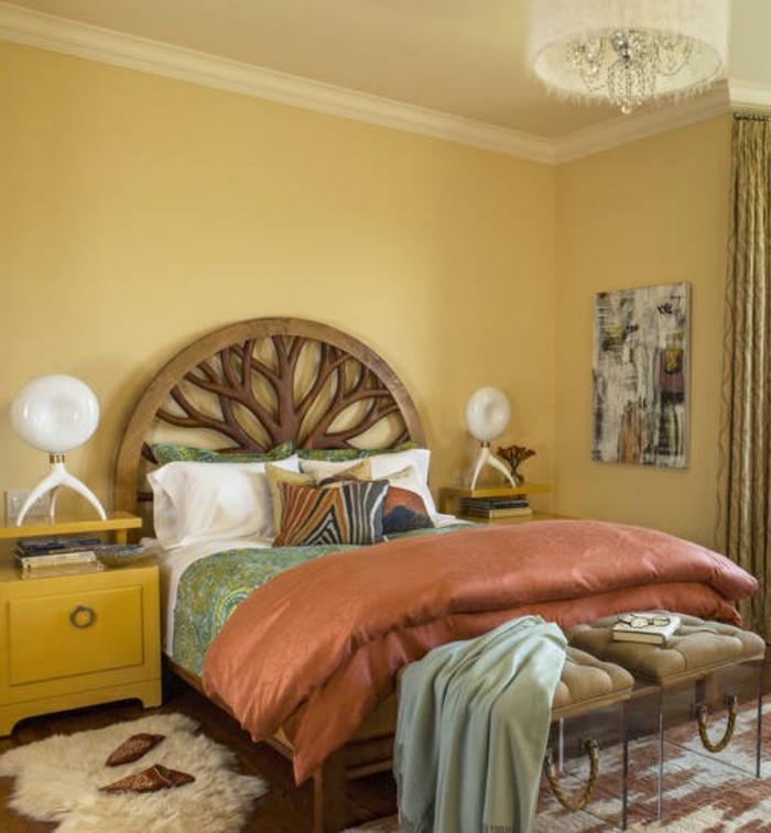 schlafzimmereinrichtung gestaltungsideen kleines schlafzimmer einrichtungsideen raumvergrößerung möblierung stauraum