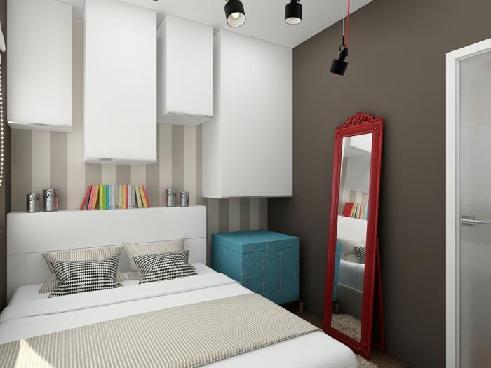 schlafzimmereinrichtung gestaltungsideen kleines schlafzimmer einrichtungsideen raumvergrößerung