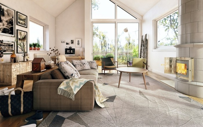 wohnzimmer einrichten ideen skandinavisch einrichten wohnzimmerdesign dekoideen