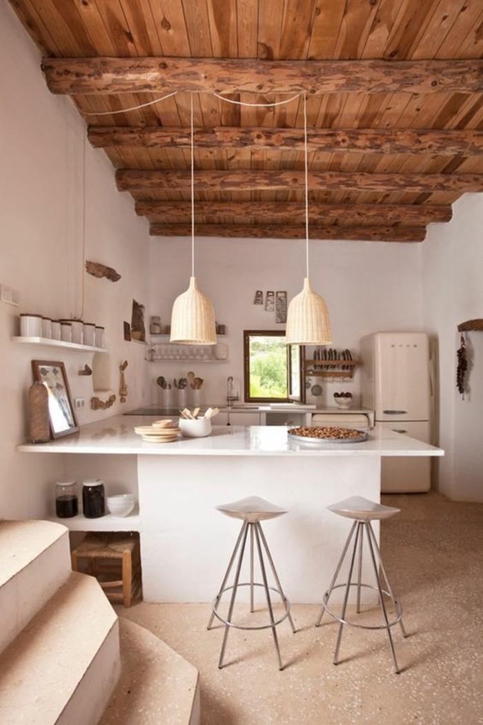 terrazzo bodenbelag küche smeg kühlschrank barhocker bloglovin
