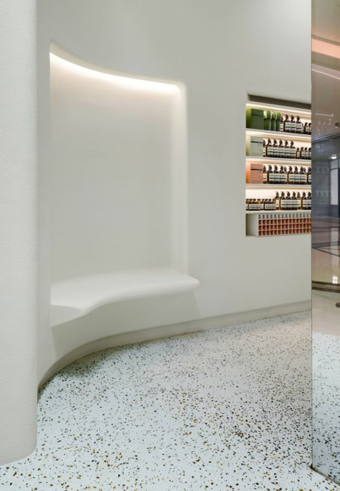 terrazzo fliesen bodenbeläge retail design blog