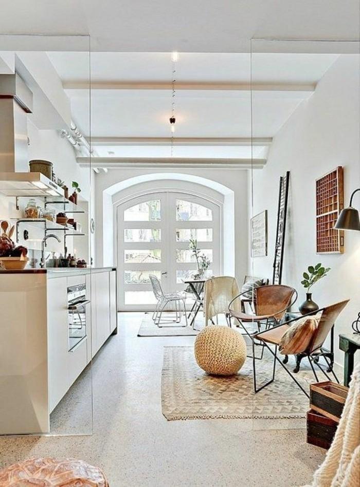 terrazzo fliesen bodenbelag esszimmer küche apartmenttherapy