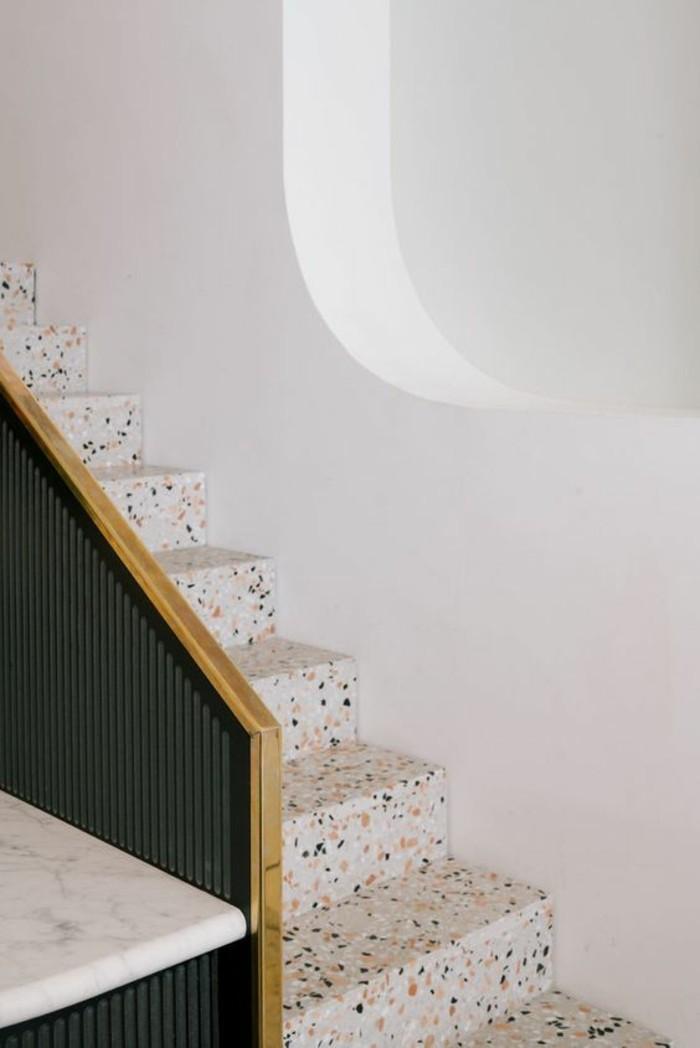 terrazzo fliesen bodenbelag treppen stufen divisare