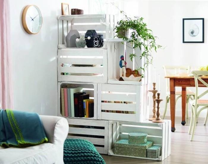 upcycling ideen möbel aus weinkisten dekoideen wohnideen13