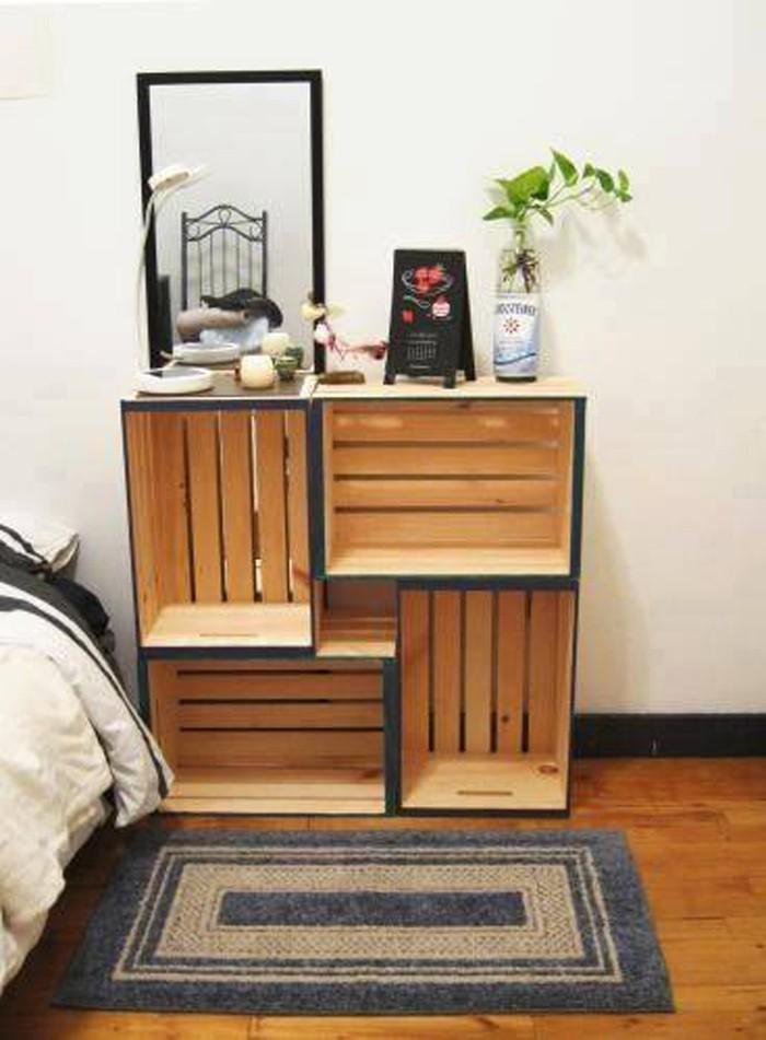 upcycling ideen möbel aus weinkisten dekoideen wohnideen20
