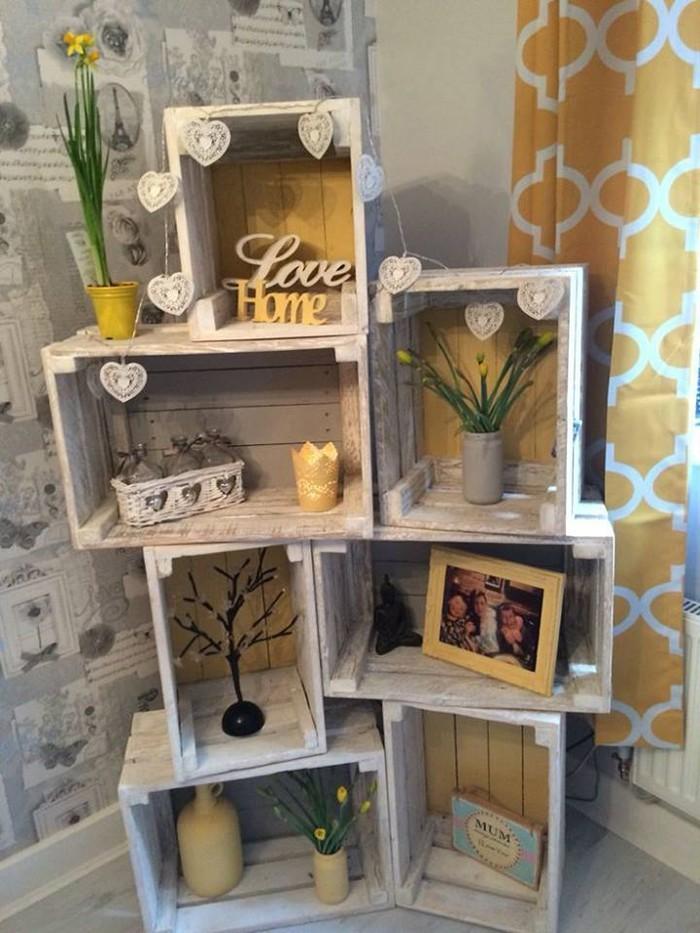upcycling ideen möbel aus weinkisten dekoideen wohnideen30