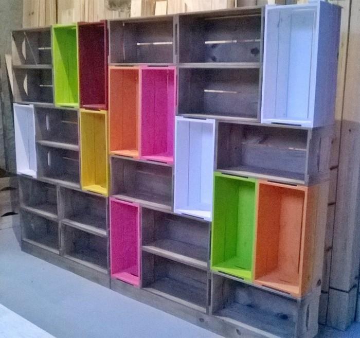 upcycling ideen möbel aus weinkisten dekoideen wohnideen35