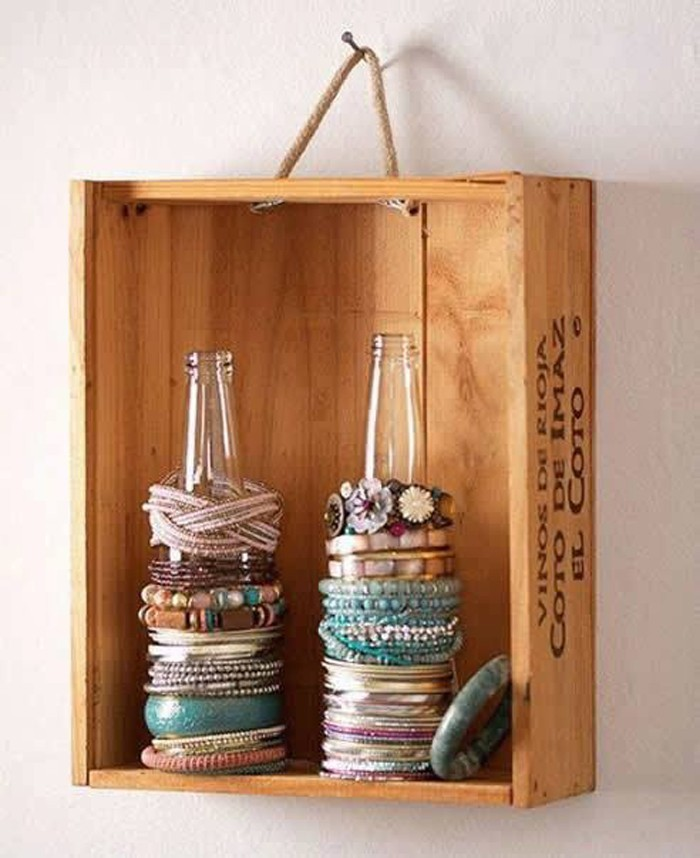 upcycling ideen möbel aus weinkisten dekoideen wohnideen4