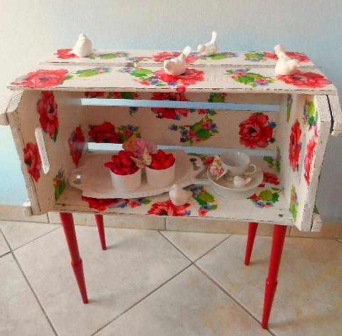 upcycling ideen möbel aus weinkisten dekoideen wohnideen6
