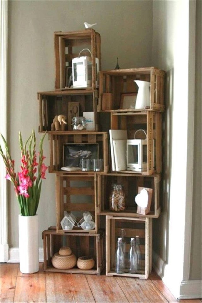 ber 55 upcycling ideen f r m bel aus weinkisten. Black Bedroom Furniture Sets. Home Design Ideas