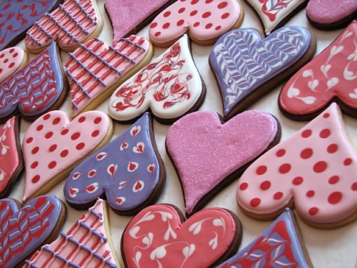 valentinstag ideen desserts kekse