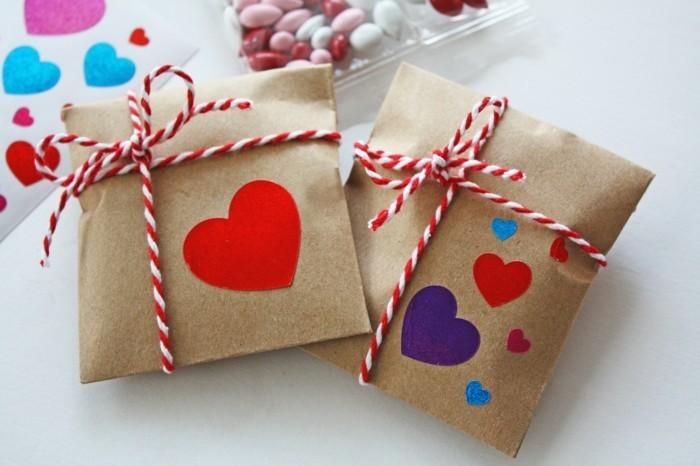 valentinstag ideen diy geschenke schöne verpackung