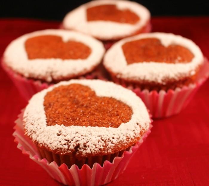 42 valentinstag kuchen muffins und kekse die dem fest. Black Bedroom Furniture Sets. Home Design Ideas