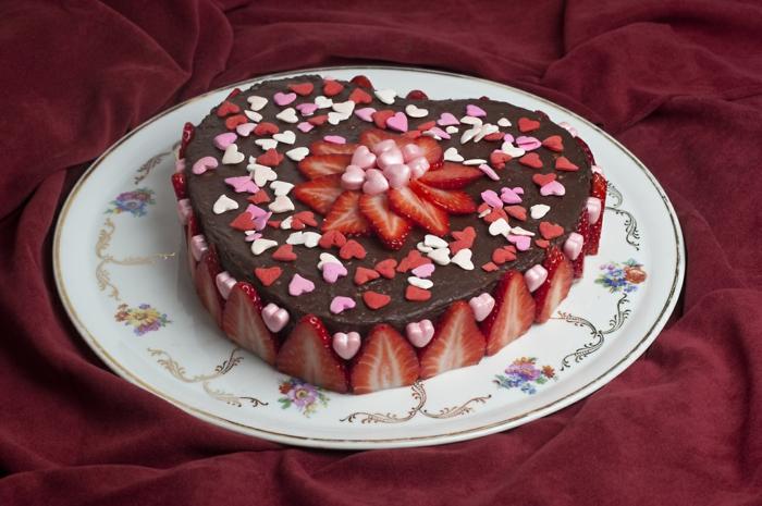 valentinstag ideen torte zubereiten geschenkideen