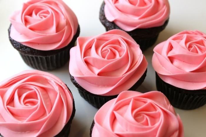 valentinstag kuchen dekorieren rose