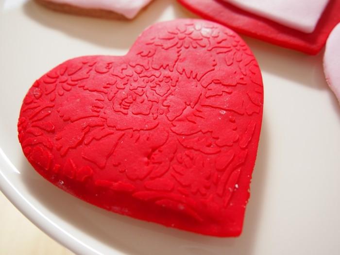 valentinstag kuchen kekse herz