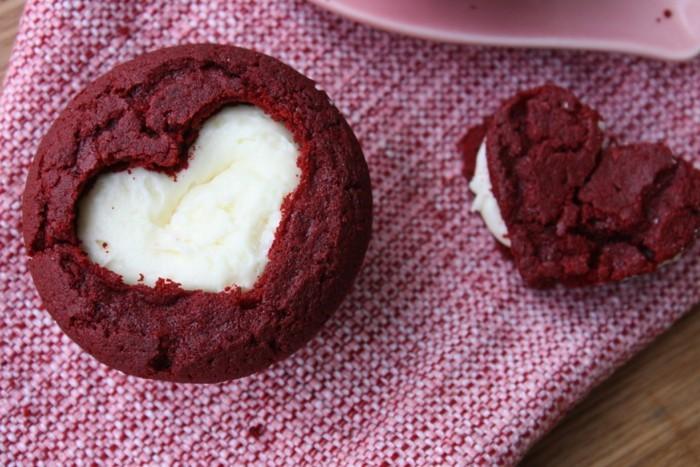valentinstag kuchen kreative idee herz