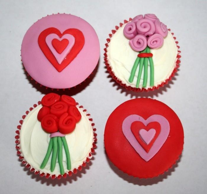 valentinstag kuchen mini kuchen verschiedene arten